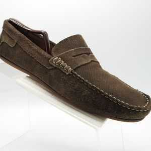 Saks Fifth Avenue Sz 11.5 Penny Loafers Mens Shoes